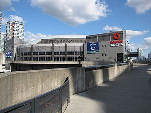 English: Rogers Arena - The home of the Vancou...