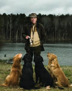 Stewart and a few of his pooches. (Photo credit: ForbesLife)