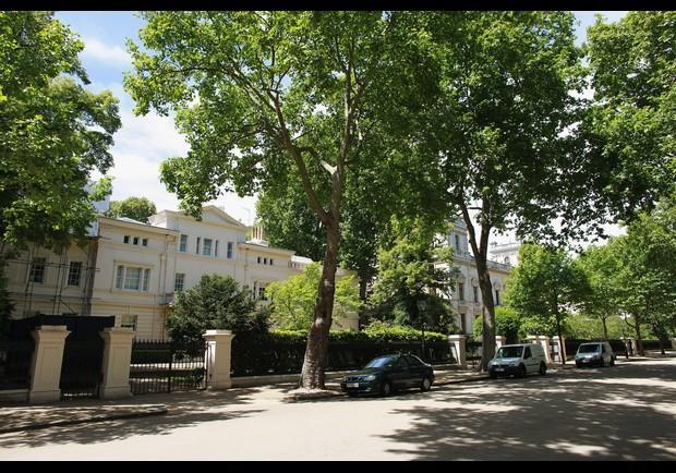 Kensington palace gardens london u k for Family home plans com