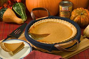 Pumpkin pie, from http://en.wikipedia.org/wiki...