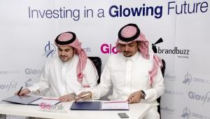 Khalid Alkhudair (right) co-founded Glowork, a startup dedicated to finding Saudi Arabian women jobs
