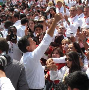 Mexico's president is working to push reforms through. Photo by N. Parish Flannery @LatAmLENS