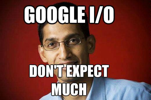 Google I/O Event: 'Not Much In The Way Of Launches'