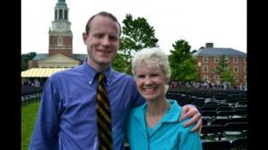 Kerry Hannon and her nephew Michael at his recent Wake Forest graduation. Courtesy of Kerry Hannon