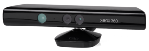 English: The Microsoft Kinect peripheral for t...