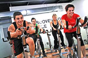 Spin Cycle Indoor Cycling Class at a Gym Categ...
