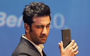 Bollywood film actor and BlackBerry brand amba...