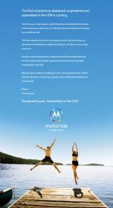 Motorola Teases Forthcoming Moto X Smartphone 'Designed By You'