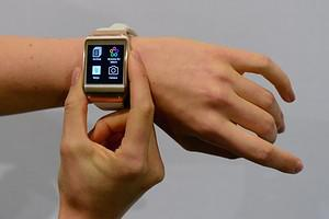The functions of Samsung's Galaxy Gear smartwa...