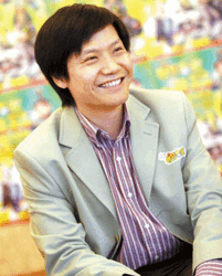 Image representing Lei Jun as depicted in Crun...