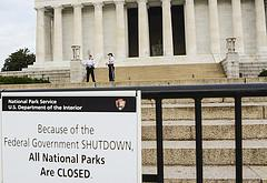 Lincoln Memorial: Closed Due to Government Shu...