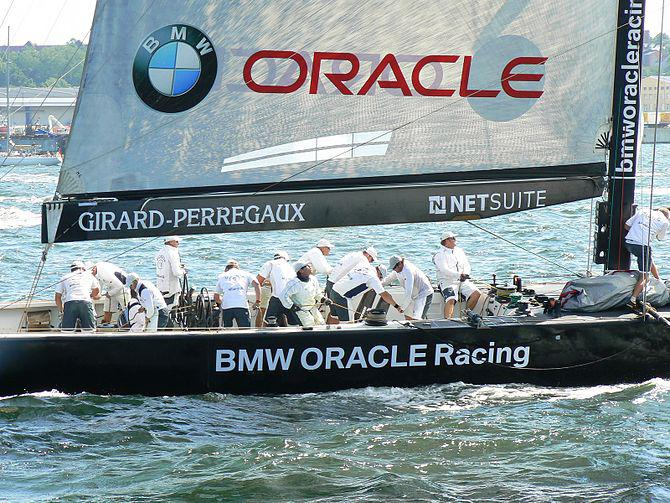 German Sailing Grand Prix Kiel 2006. Team: BMW...