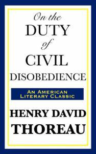 Cover of ″On the Duty of Civil Disobedien...