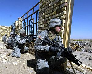 Soldiers from the 172nd Stryker Brigade Combat...