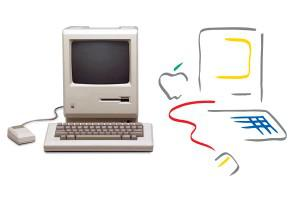 "Tom Hughes' concept for the Macintosh brand was called a ""breakthrough in human design"" by ID... [+] Magazine"
