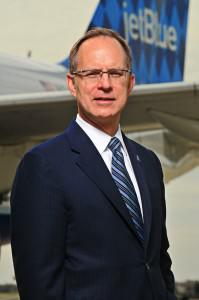 Dave Barger, President and CEO of JetBlue