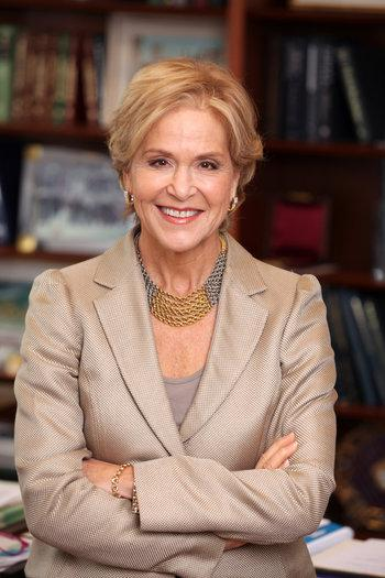 Judith Rodin, CEO of the Rockefeller Foundation.