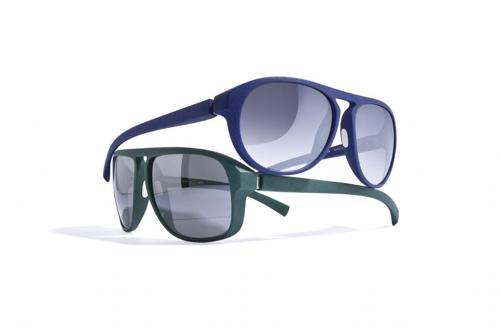 A pair of MYKITA MYLON eyewear made using SLS technology