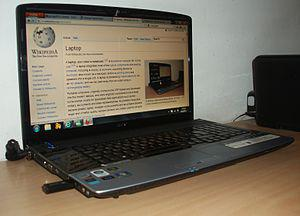 English: Acer Aspire 8920 (with 18.4 inch scre...