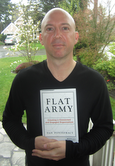 Dan Pontefract with his book (image: Dan Pontefract)