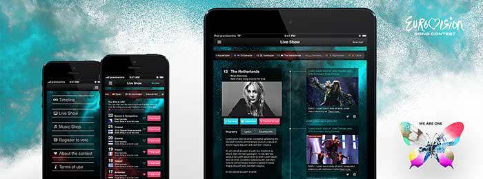 Eurovision Song Contest app by grandcentrix (Image: grandcentrix)