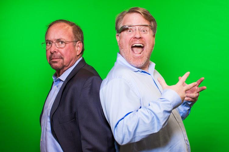 Shel Israel and Robert Scoble (image: Shel Israel)