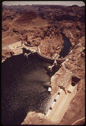 HOOVER DAM ON THE COLORADO RIVER - NARA - 548938