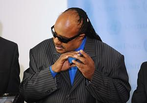 US singer-songwriter Stevie Wonder, United Nat...
