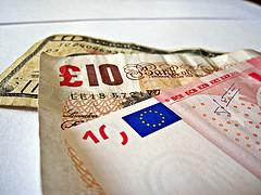 Dollars, Pounds and Euros