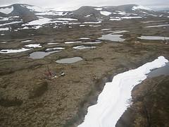 Pebble Mine site near Lake Clark