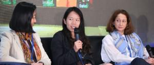 VC pros Rebecca Xu, Anna Lo and Melissa Guzy at recent Silicon Dragon Harbour forum