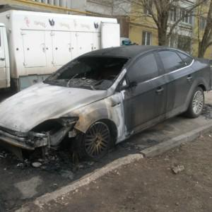 The car of Bochkarev's attorney, Pavel Afanasyev, was torched, he says as as a warning.