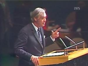 Daniel Patrick Moynihan 1975 United Nations Zionism Racism Speech