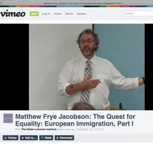 Matthew Frye Jacobson Yale ASA national council