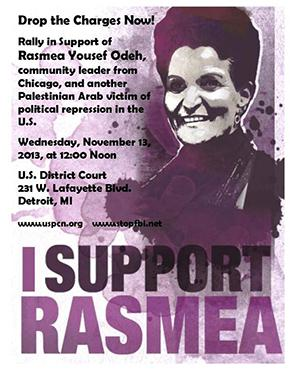 Rasmeah Yousef Odeh Poster