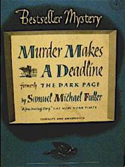 1940s reprint of Fuller's The Dark Page