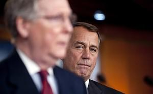 House Republican Leader John Boehner (R), R-OH...