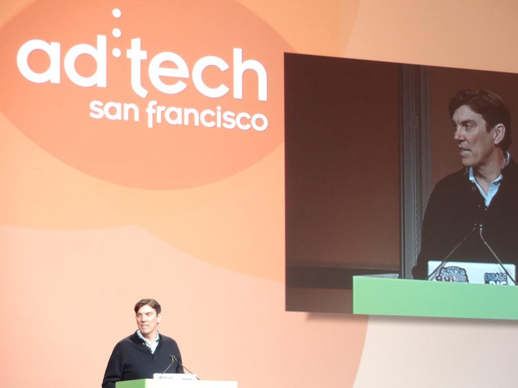 AOL CEO Tim Armstrong at ad:tech conference