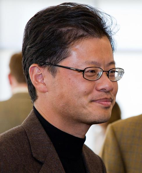 English: Jerry Yang, one of the founders of Yahoo!
