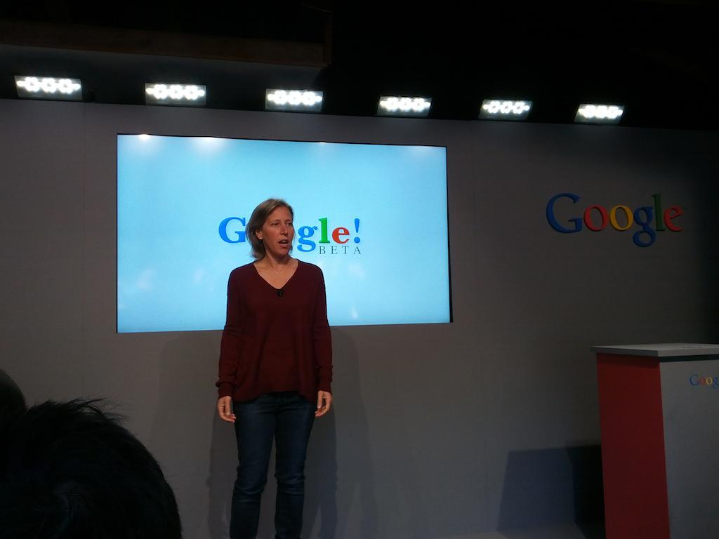 Wojcicki in the garage of the Menlo Park (Calif.) house where Google was born
