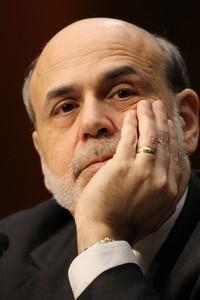 US Federal Reserve Chairman Ben Bernanke speak...