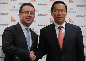 Chief executive officer of Qantas Group Alan J...