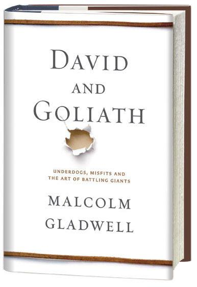"Should American health care take a page out of Malcolm Gladwell's latest book ""David and Goliath"" when seeking IT solutions? (Image courtesy of Gladwell.com)"