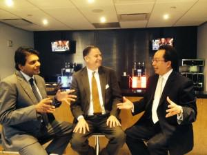 Interview with Savio Chan, CEO of US China Partners and Vijay Tharumartnam, MDEC