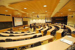 English: Pound Hall Harvard Law School 2009