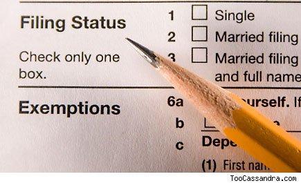 Consider Tax Filing Status Carefully