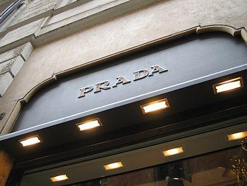 English: The Prada store in Rome.