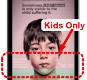 Secret Ad Message Targets Kids