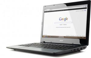 Chromebooks look just like notebooks, but need the Internet to function and store no data locally