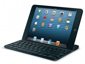 With a keyboard, an iPad mini looks just like a notebook